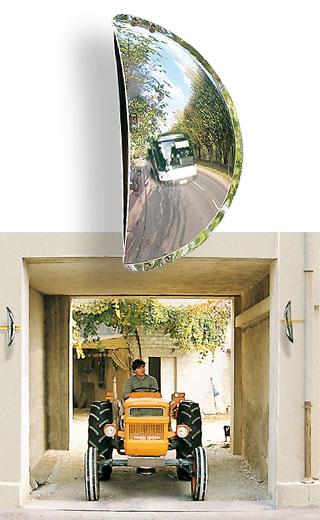 Miroirs sortie de parking for Miroir de sortie de garage