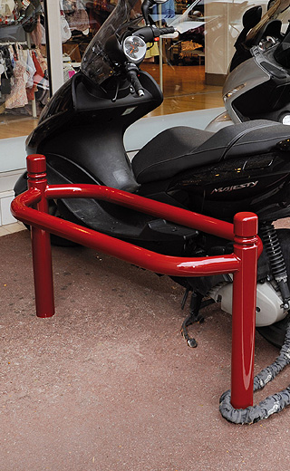 Support motos Déco