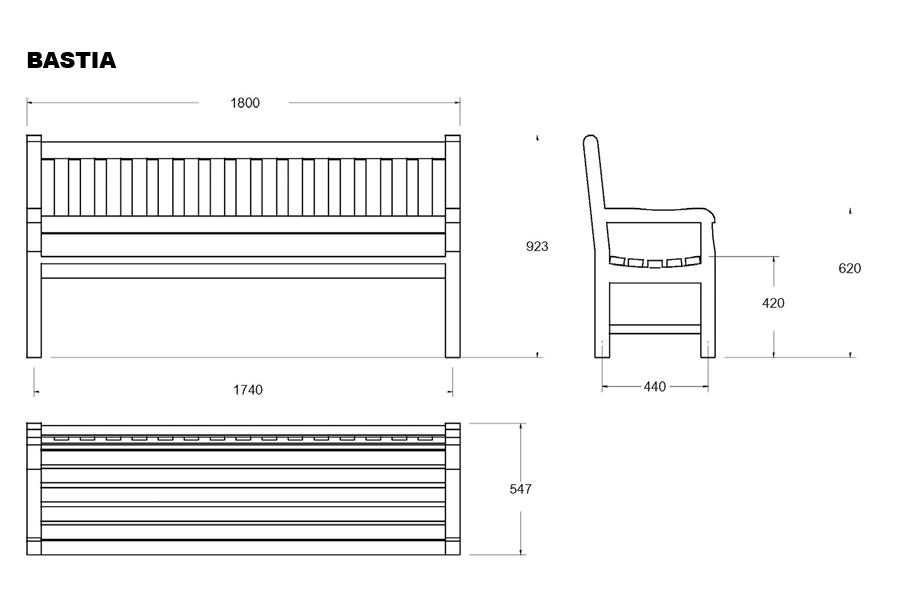 banc bois brut archives ab4 mobilier urbain et signalisation. Black Bedroom Furniture Sets. Home Design Ideas
