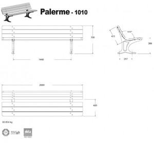 banc fonte Palerme