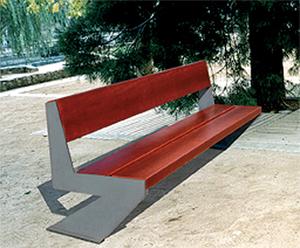 banc inox chiberta est une gamme de banc inox longue dur e. Black Bedroom Furniture Sets. Home Design Ideas