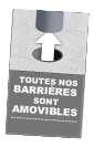 barrière-amovible