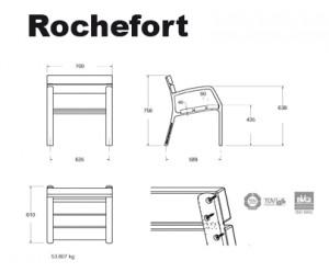 fauteuil fonte et bois