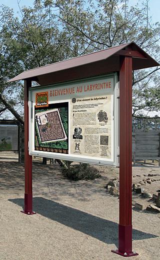 grande vitrines Archives  AB4 signalisation et mobilier urbain -> Vitrine Bois Grande Tv