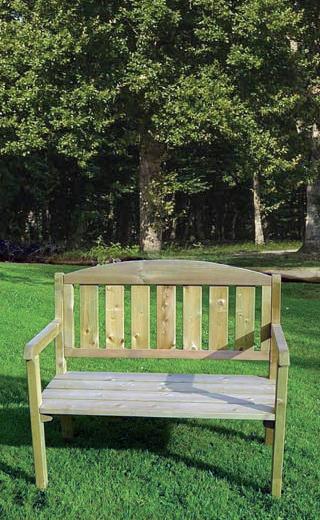 banc bois brut ajaccio banc solide et resistant aux. Black Bedroom Furniture Sets. Home Design Ideas